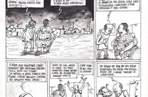 Article : les inondations dans les quartiers de N'Djamena
