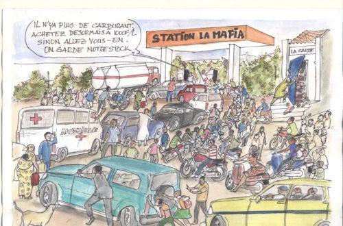 Article : La pénurie  de carburant à Ndjamena
