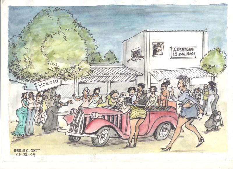 Au marché Mokolo à Moursal